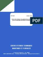 Calcul Des Rideaux de Palplanches Ancrés Par Les Méthodes de Rowe Et de Blum