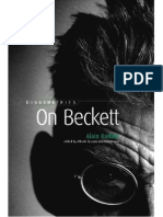 Alain Badiou on Beckett 2003