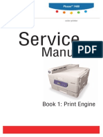 Xerox 5665 Service Manual | Photocopier | Printer (Computing)