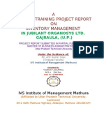 Final Report of Inventory Management 111