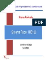 SR IRB120 SistemaRobot