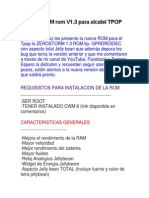 Como Instaler Rom Alcatel 4010