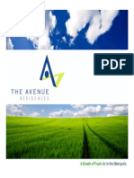 The Avenue Residences Corp. Presentation