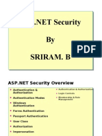 ASP.NET Security