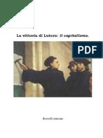 La Vittoria Di Lutero_ Il Capitalismo