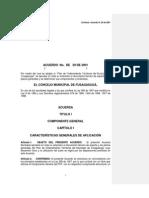 Acuerdo 29-2001- Concejo Fusagasugá