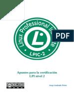 Apuntes Certificacion LPIC-2 Por Jorge Andrada