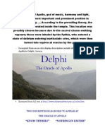 Oracle of Delphi Handout