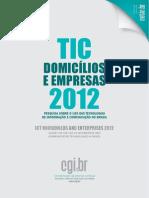 CGI_uso Das Tic Domicilios e Empresas 2012