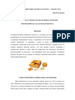 Artigo Rafael Montessori