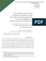 Reforma Constitucional Como Fruto Del Neoconstitucionalismo