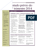 CER Da ABM Estudo Prévio 3T14