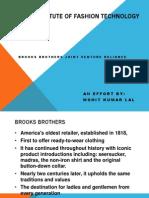 Brooks Brothers Reliance Jv