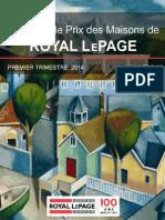 Étude Sur Le Prix Des Maisons Royal LePage