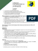 rox el ipad and laptop procedures 2012
