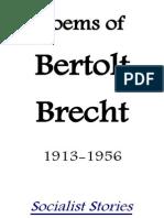 Poems of Bertolt Brecht