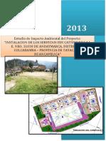Estudio de Impacto Ambiental Andaymarca