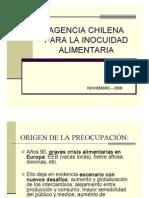 Agencia Chilena Para La Inocuidad Aliment