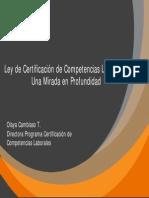 Fundación Chile - Ley de Certificación
