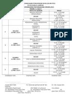 Jadual Peperiksaan Pertengahan Tahun 2014 Tahap 2