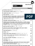 Price List Subidha