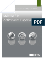34 Specialised Activities ES