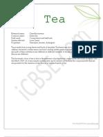Tea Acidity