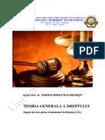 Teoria Generala a Dreptului - Anul 1, Sem 1