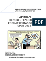 Laporan Format Upsr 2013