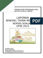 Laporan Bengkel Teknik Menjawab Upsr 2013-1