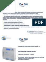 Presentacion Equipo IQ-E60