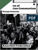 Manifesto of Libertarian Communism