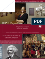 IUPUI History Courses Fall 2014