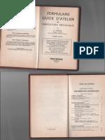 Guide d'Atelier de Fabrication Mécanique Dunod