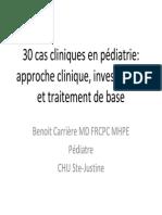 30 Cas Cliniques en Pédiatrie-Approche Clinique, Investigasion Et Traitement de Base (2)