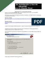 Manual Instalación y Uso UltraVNC - Cliente