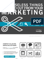 10 Things to Cut From Your Marketing