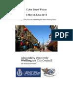 Cuba Street Focus Summary Report June 2014 Final