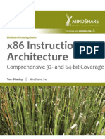 x86 Instruction Set Architecture