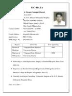 BIO Data Deepak