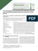 Economics of Bioethanol From Rice Straw