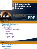 Lecture 1.3 - Scientific Methods