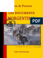 Poncins Léon de - Les Documents Morgenthau