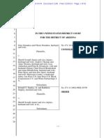 Judge's Take on Thomas/Arpaio Affair