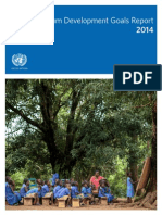 The MDG Report 2014