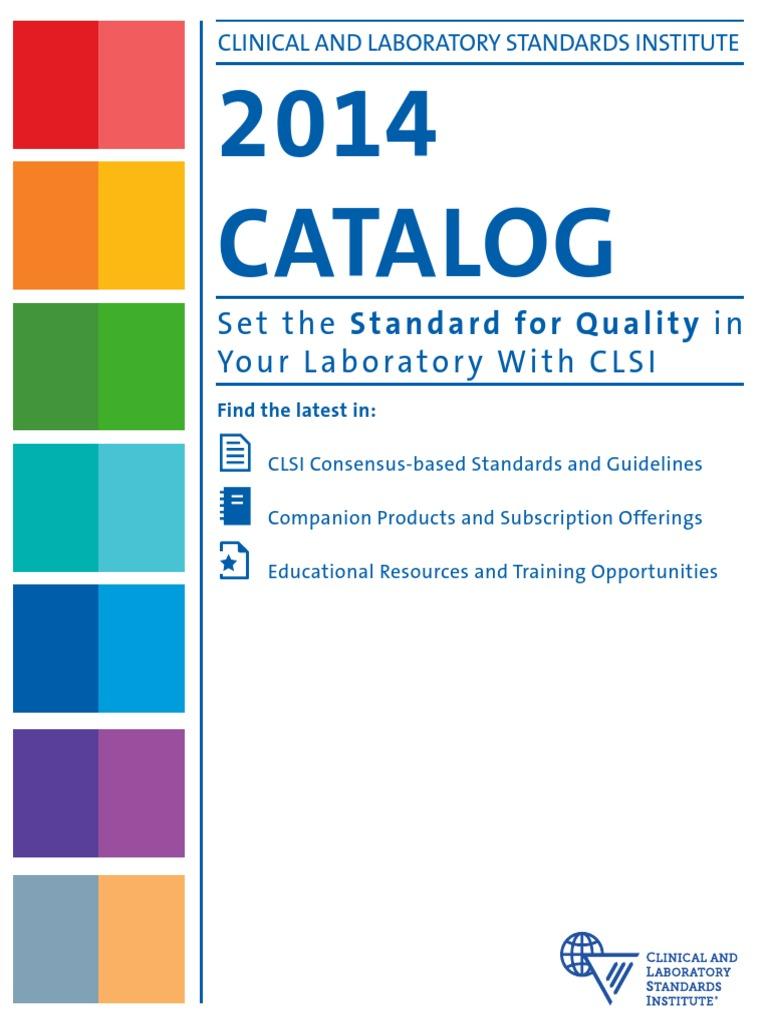 clsi catalog web links042414 immunoassay medical laboratory rh scribd com