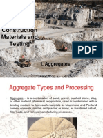 Aggregates Discussion