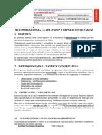 1metodologia Pra La Deteccion y Reparacion de Fallas
