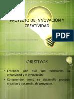 Proyecto de Innovaciòn y Creatividad