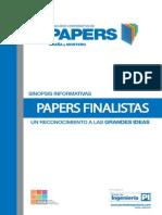 Publicaci Sn Paper Finalistas